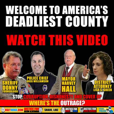 Police killing Innocent, Unarmed People in America's Deadliest County