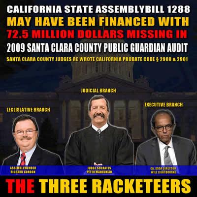 Racketeering Socrates Manoukian Ryan Mayberry Santa Clara County Corruption