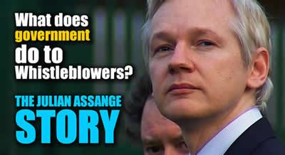 whistleblower hero julian assange