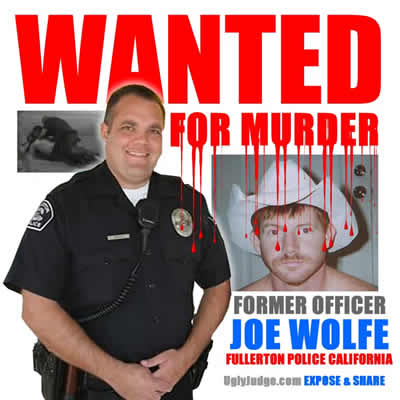 expose former police officer joe wolfe fullerton california