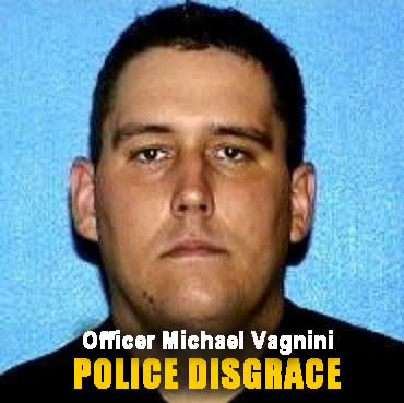 Wisconson Milwauke Police officer Michael Vagnini is a deigrace