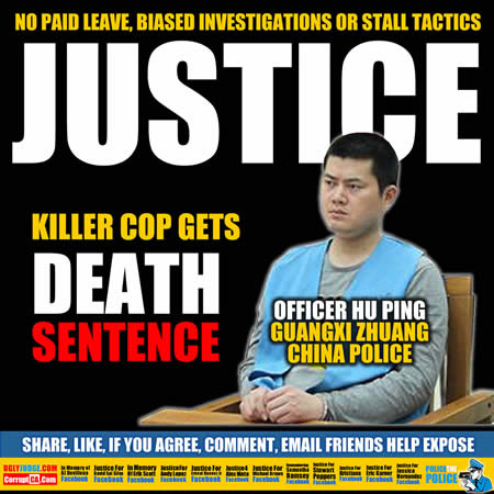 bad cop sentenced to death more justice in china than the usa