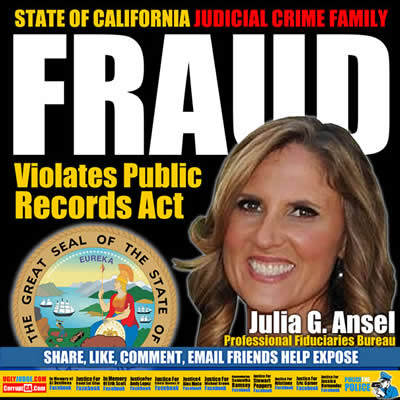 california epidemic misconduct by  julia G. Ansel Professional Fiduciaries Bureau, Department of Consumer Affairs