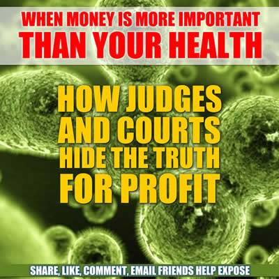 dishonest judges profit