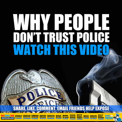 Why People Don't Trust Police