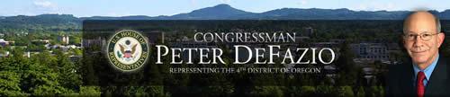 Congressman peter defazio
