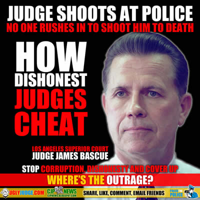 los angeles california superior court judge james bascue treated above the law