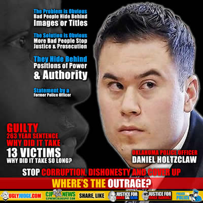 oklahoma police officer daniel holtzclaw guilty hides behind a badge and title why did it take so long