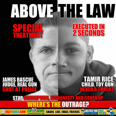 tamir rice versus judge james bascue above the law double standards for police executions
