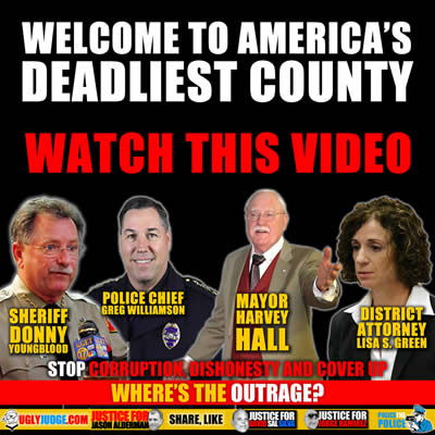 Police killing Innocent, Unarmed People in America's Deadliest County