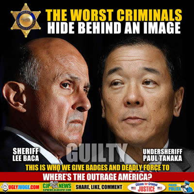 The worst criminals hide behind an image
