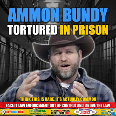 Ammon Bundy Tortured in Prison