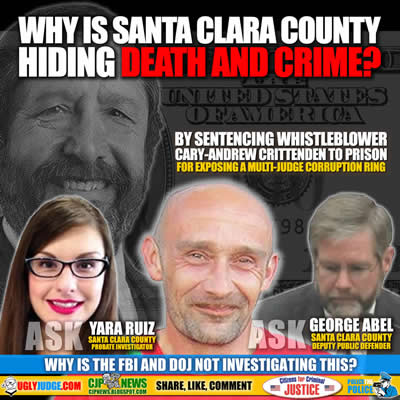why is the fbi and doj not investigating santa clara county judge socrates peter manoukian