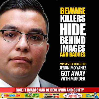 Beware Killers Hide Behind Images and Badges