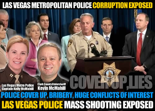 las vegas metro Police cover up lies Kelly M Mcmahill undersheriff Kevin McMahill corruption and lies