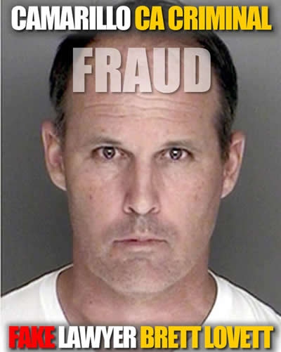 CAMarillo lawyer Brett Lovett