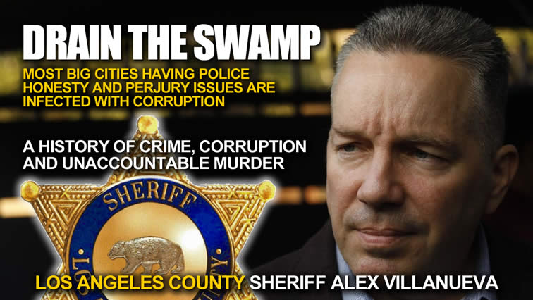 L.A. County sheriff's officials will be fired or relieved of duty once Alex Villanueva