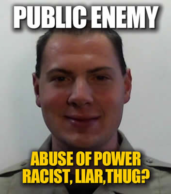 Deputy Eli Max Parker Arizona abuse of power Larry and Janet Briggs violates rights
