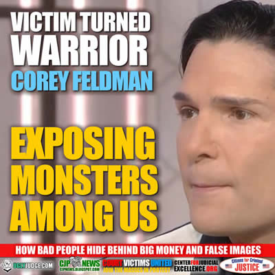 corey feldman exposing the monsters among us a victim now warrior