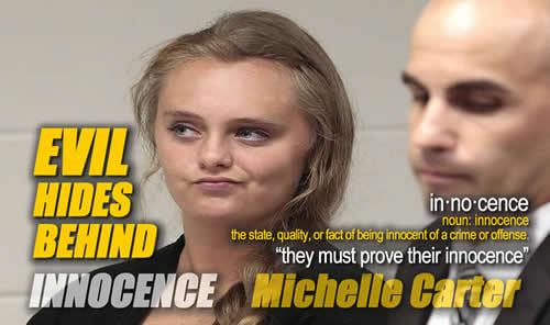 Evil Hides behind Innocence Michelle Carter Pyschopath