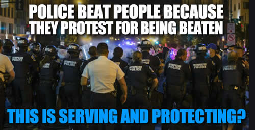 police abuse people for being abused